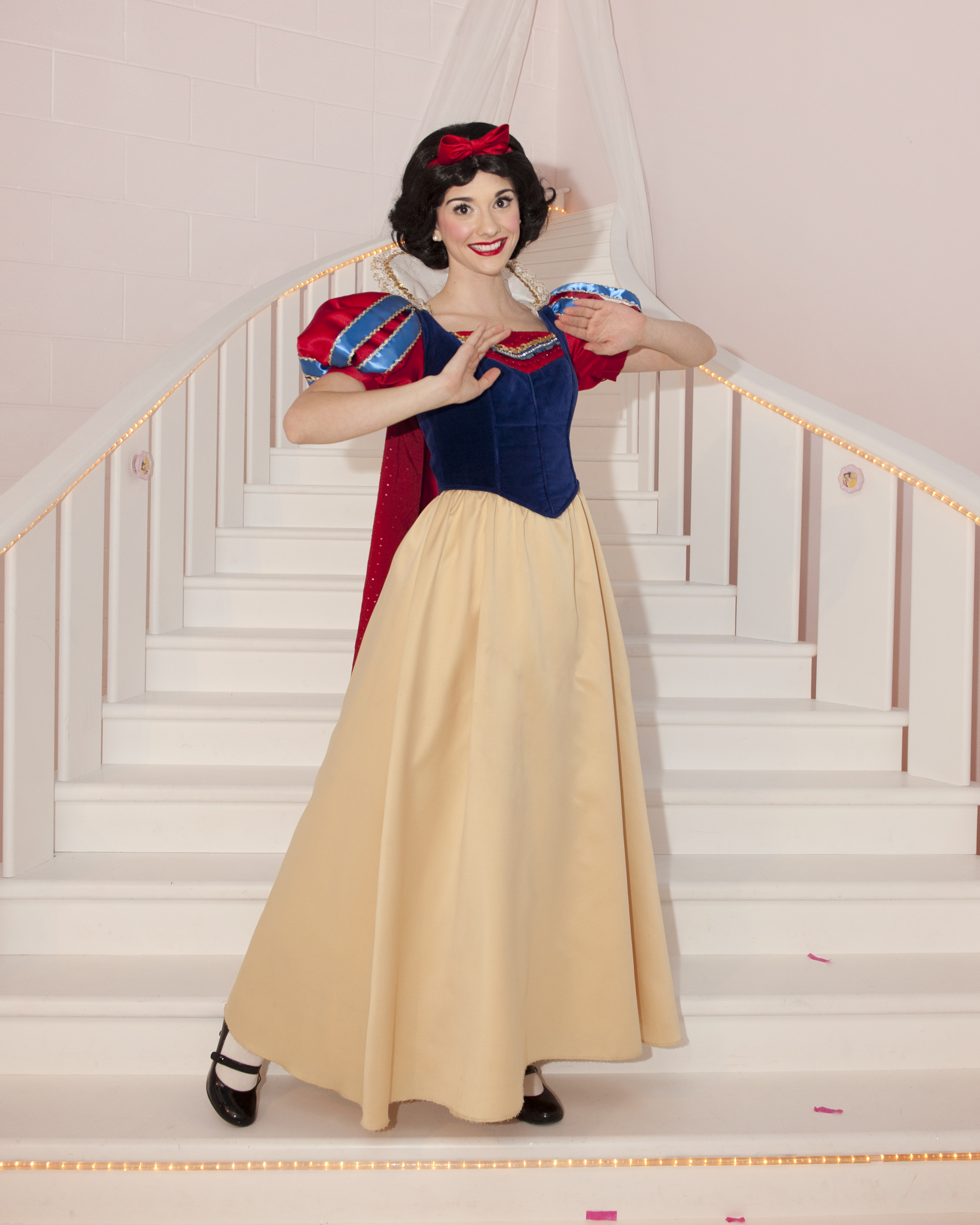 Snow white princess parties