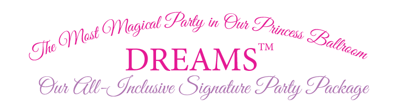 Wishes Princess party package