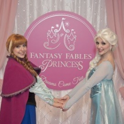 Elsa and Anna princess parties